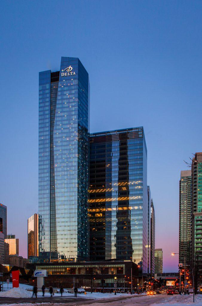 SFC Delta Toronto tower