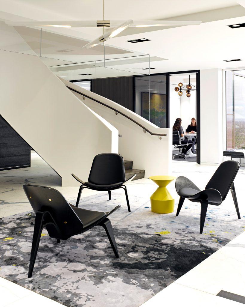 Miller Thomson interiors lobby
