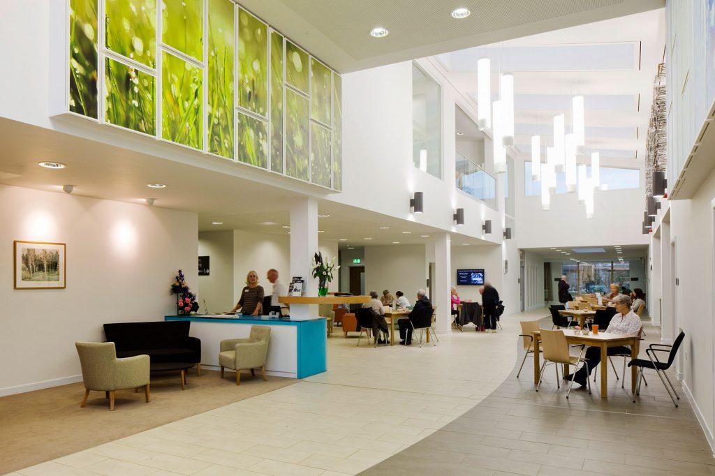 St Wilfrids Hospice interior