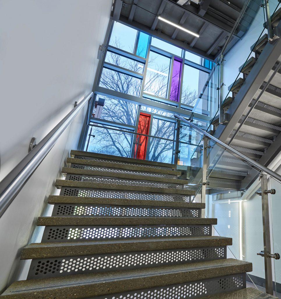 CASA Centre Calgary staircase