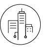 Asset Management Building Icon