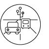 Asset Management Transportation Icon
