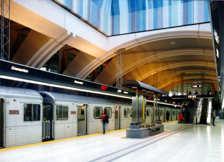 TTC-station-platform