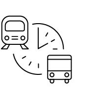 Transit real time icon thumbnail