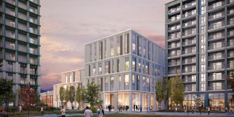 Rendering of Nine Elms School