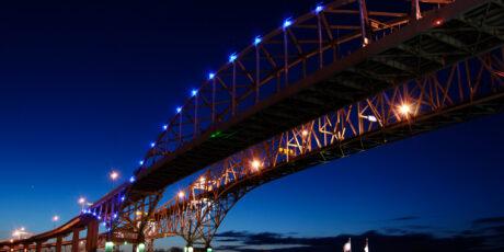 Blue Water Bridge Toll System